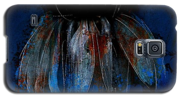 Galaxy S5 Case featuring the photograph Garden Blue by Jim Vance
