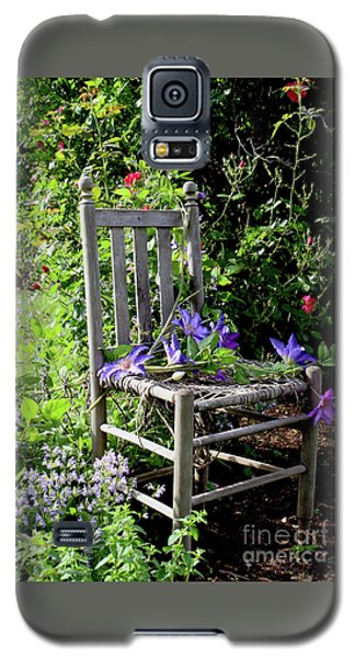 Garden Chair Galaxy S5 Case