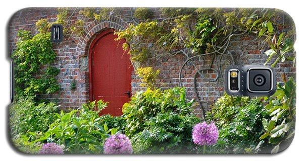 Garden Door - Paint With Canvas Texture Galaxy S5 Case