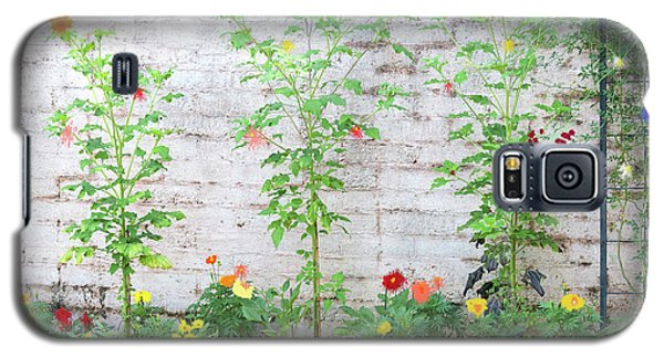 Galaxy S5 Case featuring the photograph Garden Florals by Carolyn Dalessandro