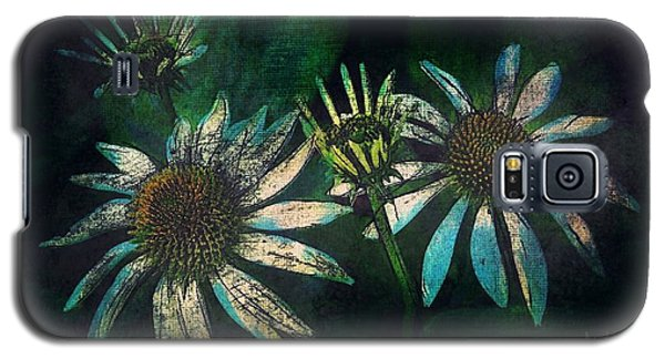 Galaxy S5 Case featuring the photograph Garden Flowers 1 June 14 2015 by Jim Vance
