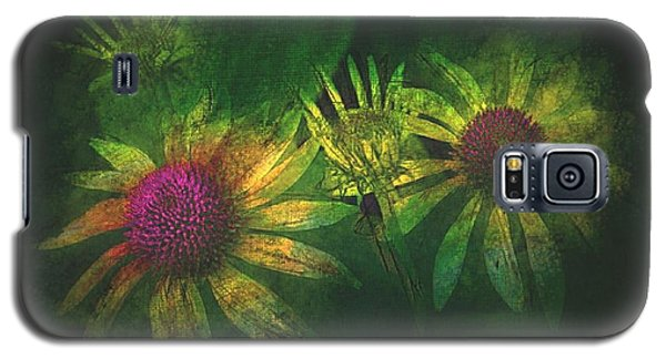Galaxy S5 Case featuring the photograph Garden Flowers 2 June 14 2015 by Jim Vance