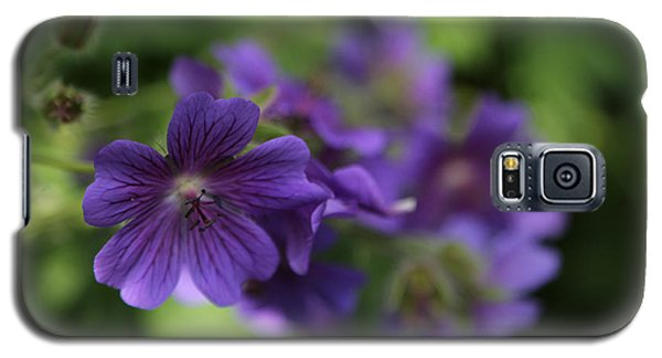 Galaxy S5 Case featuring the photograph garden Flowers June 15 2015 by Jim Vance