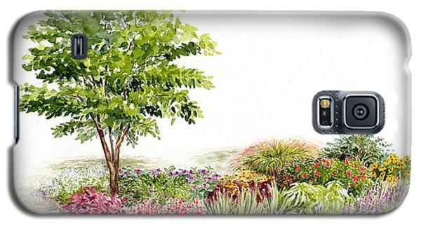Garden Fresh Watercolor Painting Galaxy S5 Case