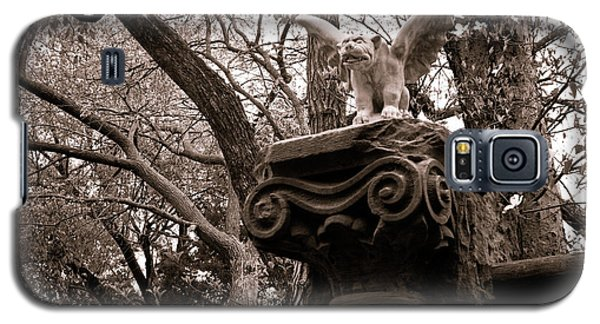 Garden Gargoyle  Galaxy S5 Case by Toni Hopper