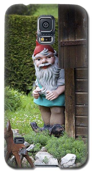 Garden Gnome And Deer Galaxy S5 Case