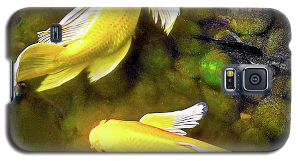 Garden Goldenfish Galaxy S5 Case