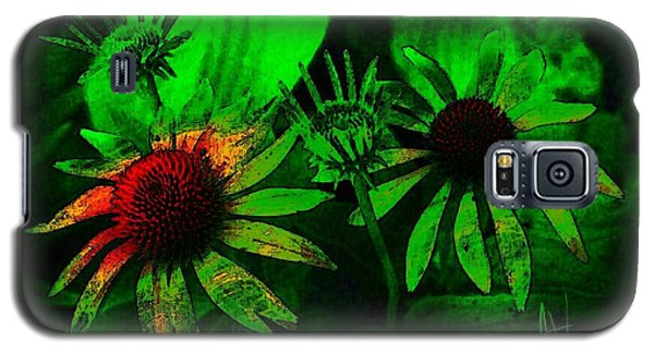Galaxy S5 Case featuring the photograph Garden Green by Jim Vance