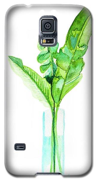 Banana Galaxy S5 Case - Garden Indoors by Roleen Senic