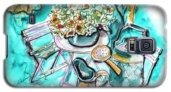 Garden Life Illustration Galaxy S5 Case