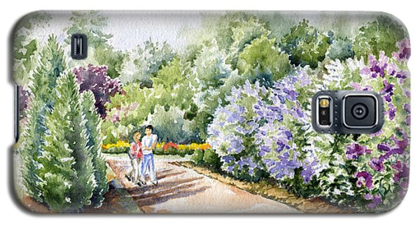 Garden Lilacs Galaxy S5 Case