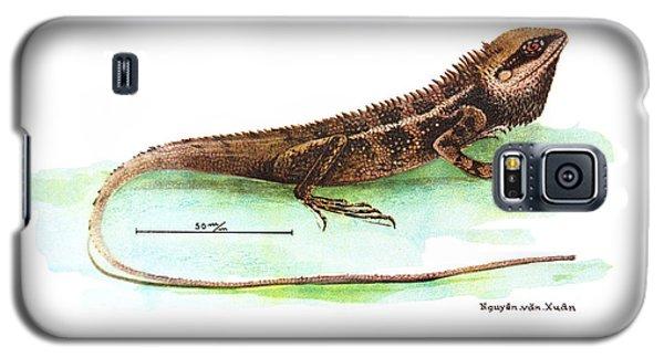 Garden Lizard Galaxy S5 Case by Nguyen van Xuan