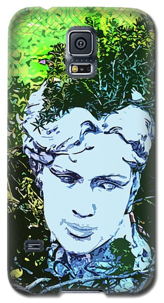 Garden Nymph Head Planter Galaxy S5 Case