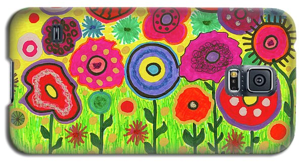 Garden Of Blooming Brilliance Galaxy S5 Case