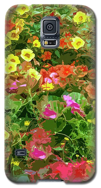 Garden Of Color Galaxy S5 Case by Josy Cue