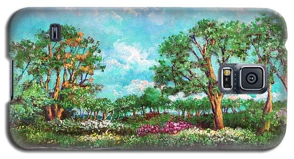 Summer In The Garden Of Eden Galaxy S5 Case by Randy Burns
