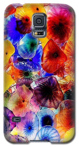 Galaxy S5 Case featuring the photograph Garden Of Glass Triptych 2 Of 3 by Benjamin Yeager