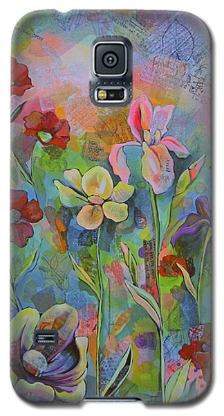 Garden Of Intention - Triptych Center Panel Galaxy S5 Case