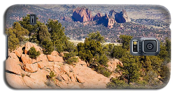 Garden Of The Gods And Springs West Side Galaxy S5 Case