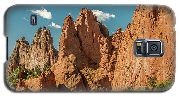 Galaxy S5 Case featuring the photograph Garden Of The Gods by Bill Gallagher