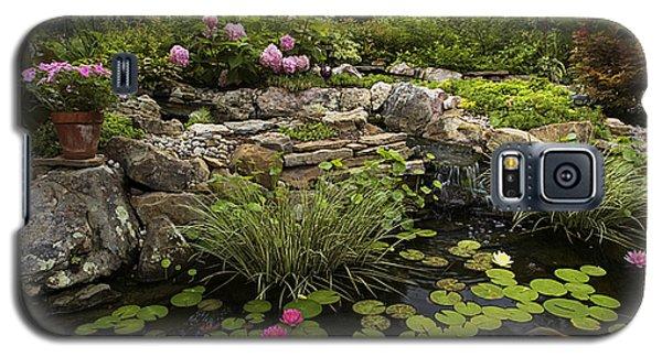 Garden Pond - D001133 Galaxy S5 Case