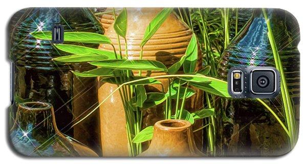 Garden Pottery Jugs Galaxy S5 Case