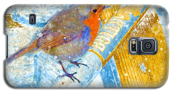 Galaxy S5 Case featuring the photograph Garden Robin by LemonArt Photography