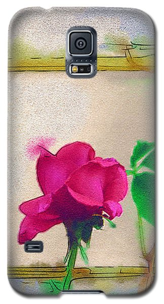 Garden Rose Galaxy S5 Case