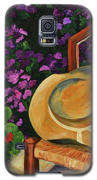 Garden Scene Galaxy S5 Case