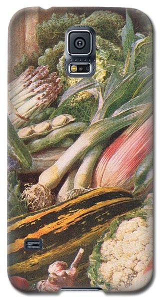 Garden Vegetables Galaxy S5 Case by Louis Fairfax Muckley