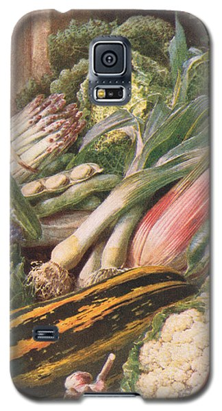 Garden Vegetables Galaxy S5 Case by Louis Fairfax Muckley