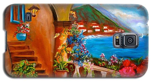Garden Veranda 1 Galaxy S5 Case by Jenny Lee