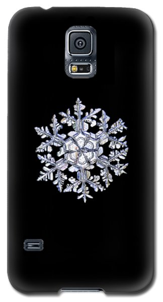 Gardener's Dream, White On Black Version Galaxy S5 Case