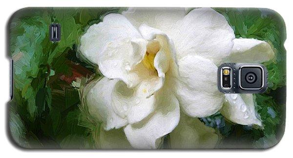Gardenia Blossom Galaxy S5 Case