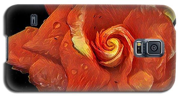 Gardenia For Madam Pele Galaxy S5 Case