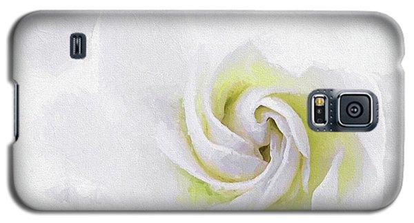 Gardenia Swirl  Galaxy S5 Case by JC Findley
