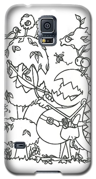 Gardening Monster Galaxy S5 Case