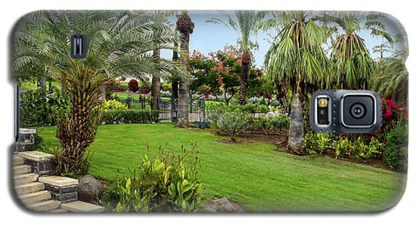 Gardens At Mount Of Beatitudes Israel Galaxy S5 Case
