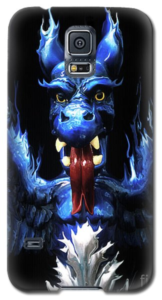 Galaxy S5 Case featuring the photograph Gargoyle by Jim and Emily Bush