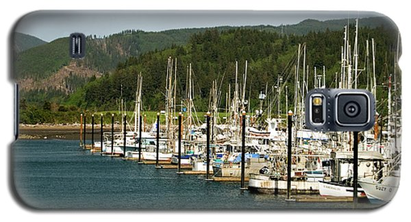 Garibaldi Oregon Marina Galaxy S5 Case