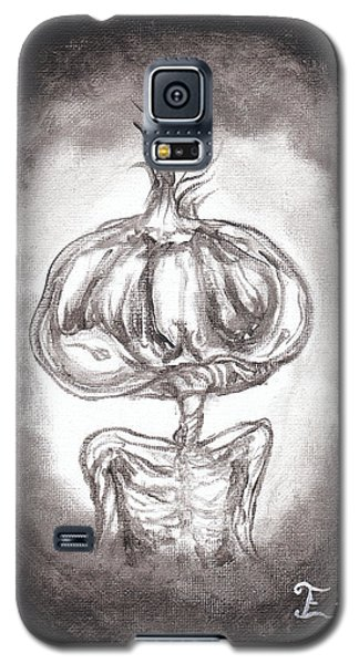 Galaxy S5 Case featuring the painting Garlic Boy by Christophe Ennis