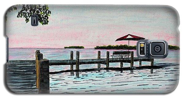 Garlic Island On Lake Winnebago Galaxy S5 Case