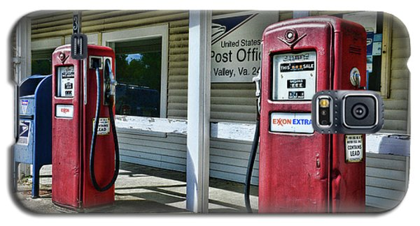 Galaxy S5 Case featuring the photograph Gas And Mail 1 by Paul Ward