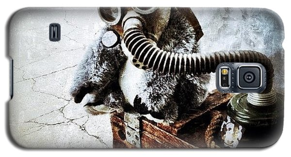 Instagramhub Galaxy S5 Case - Gas Mask Koala by Natasha Marco