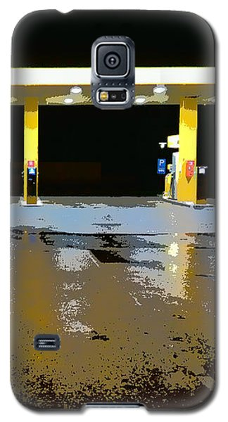 Gas Pumps At Night Galaxy S5 Case