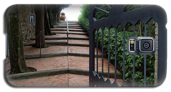 Gate To Castello Vichiamaggio Galaxy S5 Case