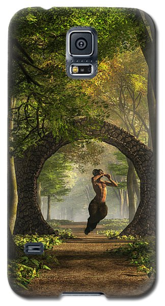 Gate To Pan's Garden Galaxy S5 Case