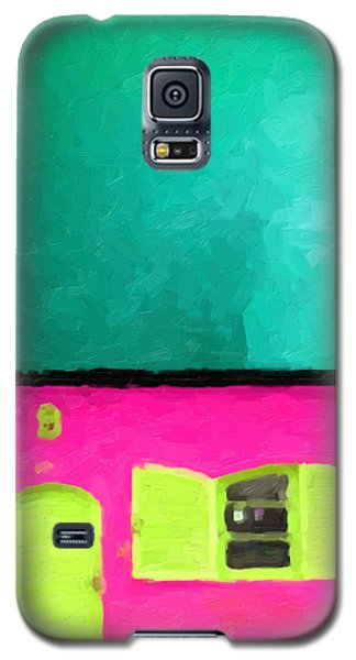 Galaxy S5 Case featuring the digital art Gateways And Portals No. 4 by Serge Averbukh
