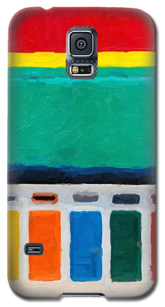 Galaxy S5 Case featuring the digital art Gateways And Portals No.1 by Serge Averbukh