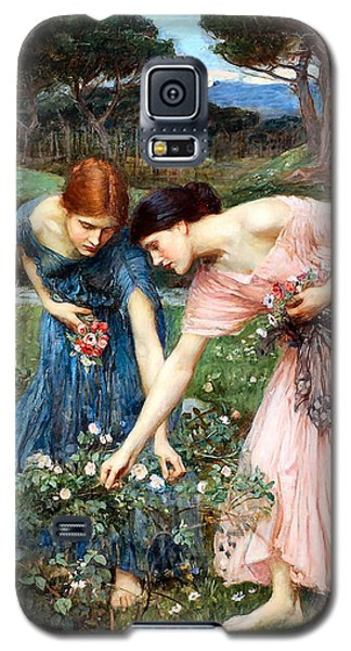 Gather Ye Rosebuds While Ye May Galaxy S5 Case